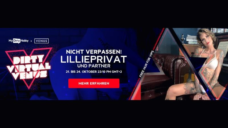 Die Virtual Venus 2021 – Live auf MyDirtyHobby.de