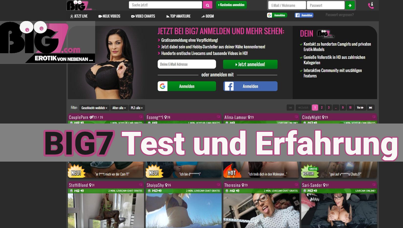 Big7.com Test und Erfahrungen
